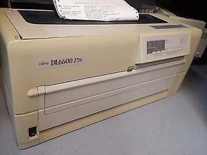 Fujitsu DL 6600 Pro printer parallel serial dot-matrix 648cps dl6600