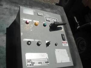 Electrical Disconnect and Pump Panel c/w Timer and Mag Starter