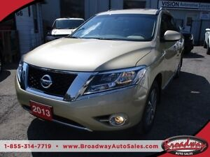 2013 Nissan Pathfinder LOADED SL EDITION 7 PASSENGER 3.5L - V6..