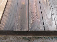 """50 x 112cm long 4""""x1"""" Wooden wood treated timber DIY carpentry shed gravel board"""