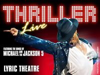 Thriller ticket tonight!