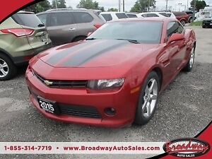 2015 Chevrolet Camaro LOADED 1-LT - COUPE EDITION 4 PASSENGER 3.