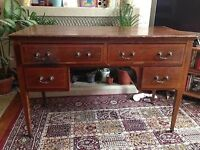 Inlaid dressing table / desk