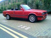 BMW 320i M SPORT CONVERTABLE E30