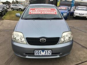 2004 Toyota Corolla ZZE122R Conquest Seca 4 Speed Automatic Hatchback