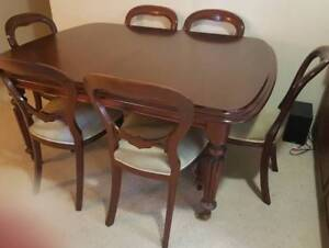 TOP QUALITY PERIOD DINING SUITE Cremorne North Sydney Area Preview
