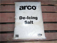 Arco high purity 25 kg bag of road driveway path cold weather de ice icer salt