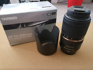 Tamron SP 70-300mm F/4 -5.6 Di VC USD Cannon mount Burwood Burwood Area Preview