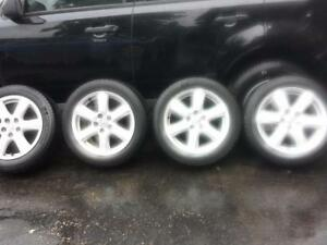 TOYOTA CAMRY 17 INCH FACTORY OEM WHEELS WITH MICHELIN ALL SEASON  215 / 55 / 17 TIRES.