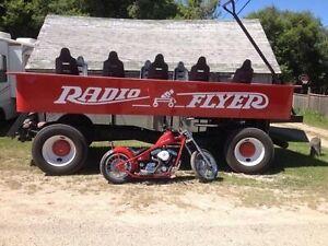 Ride wagon.