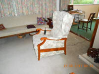Electric Recliner and Matching Lounge Chair
