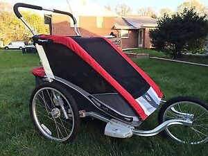 Chariot Cougar 2 stroller carrier (bike + ski attachments avail)