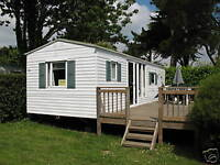 CARAVAN HIRE IN FRANCE ON BEAUTIFUL SOUTHERN BRITTANY CAMPSITE NEAR THE BEACH