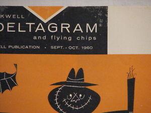 Deltagram Vintage Magazine - September-October 1960 Peterborough Peterborough Area image 3