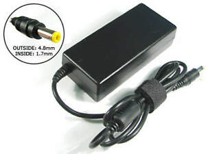 For HP 18.5V 3.5A (65W) 4.8mm X 1.7mm Power Adapter