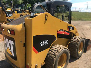 Cat 246C Skid steer tractor