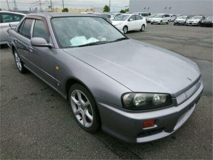 1998 Nissan Skyline R34 25GT-T Silver Manual Sedan