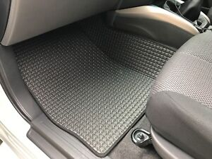 RUBBER CAB FLOOR MATS FOR UTES