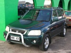 1999 Honda CR-V Sport 4WD Green 5 Speed Manual Wagon Nailsworth Prospect Area Preview
