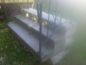 Cement Stairs - Precast Cornwall Ontario image 2