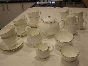 ENGLISH DUCHESS TEA/COFFEE SET - NEVER USED Noranda Bayswater Area Preview