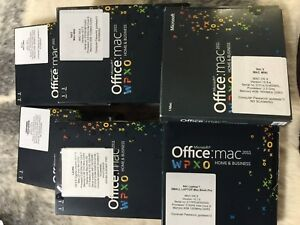 Microsoft Office for Mac Software Packs x 6 Berrima Bowral Area Preview