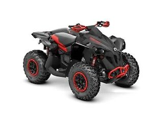2020 Can-Am Renegade X xc 1000R Carbon Black & Can-Am Red