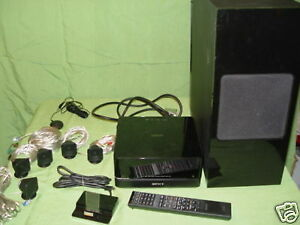 SONY home theatre with micro-speakers