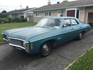 Chevrolet Bel-Air/Impala 1969 moteur v8 327