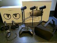Oculus Rift VR Headsetwith 3x sensors, 2x Touch Controllers & Xbox Controller