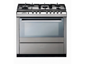 St George 900mm Upright Electric Oven & 5 Burner Gas Cooktop Condell Park Bankstown Area Preview