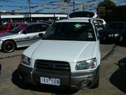 2003 Subaru Forester MY03 XS 5 Speed Manual Wagon