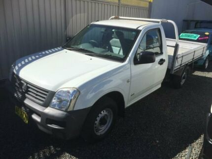 2005 Holden Rodeo RA DX White 5 Speed Manual Cab Chassis Taree Greater Taree Area Preview
