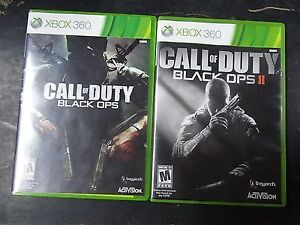 CALL OF DUTY BLACK OPS AND BLACK OPS 2