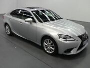 2013 Lexus IS250 GSE20R MY13 SPORTS LUXURY Silver Sports Automatic Sedan Fyshwick South Canberra Preview