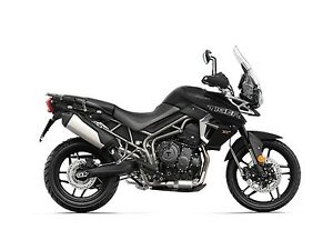 2018 Triumph Tiger 800 XRX Matt Jet Black
