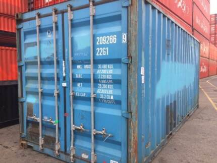 20FT SHIPPING CONTAINERS