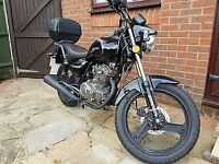 Zontes Tiger 125cc Excellent Condition. 558 miles!!