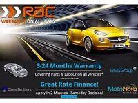 KIA RIO 1.4 3 5d 96 BHP 6 Month RAC Parts & Labour Warranty