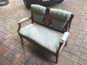Antique 2-Seater Sofa