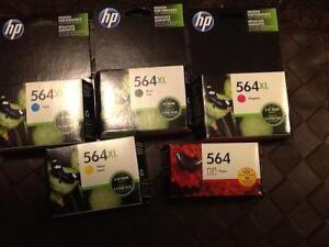 HP 564XL Ink Jet Cartridges - Brand new!