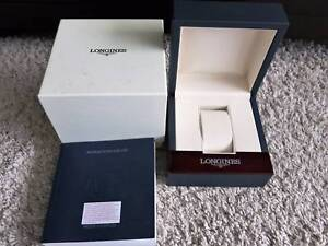 LONGINES EMPTY LUXURY WATCH BOX AND INSTRUCTIONS BOOK South Yarra Stonnington Area Preview