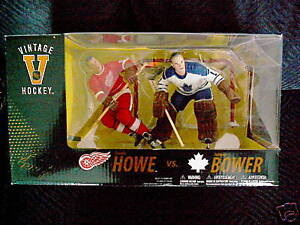 Figurines McFarlane NHL LNH Gordie Howe VS Johnny Bower Hockey