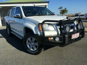 2010 Holden Colorado RC MY10 LT-R Crew Cab White 5 Speed Manual Utility Mackay Mackay City Preview