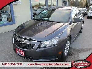 2011 Chevrolet Cruze FUEL EFFICIENT 2-LS MODEL 5 PASSENGER 1.8L