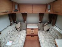 4 berth Ace Jubilee viscount 2007 fixed bed end bathroom with separate shower loads of extras