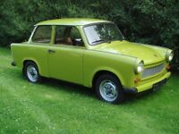 Looking for a Trabant (601, 500, etc.)
