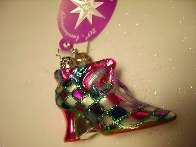 CHRISTOPHER RADKO 2008 DIAMOND DELIGHT Gem Shoe hi heel