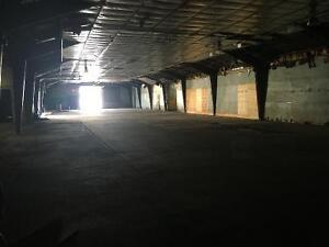 Warehousing/Shop/Storage space for lease