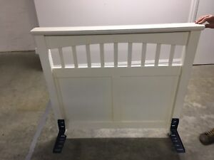 King single bed head Brighton Bayside Area Preview